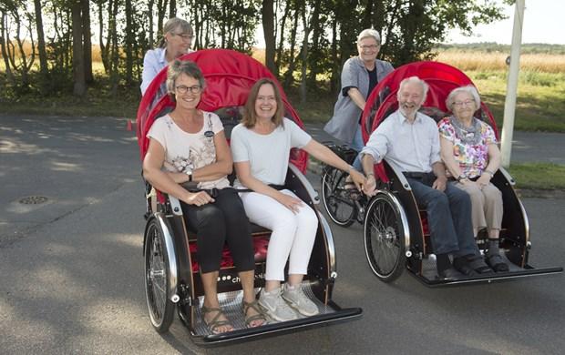 Donation skal bruges på ladcykel til kørestole