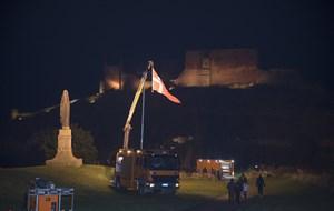 Derfor måtte vi flage efter solnedgang