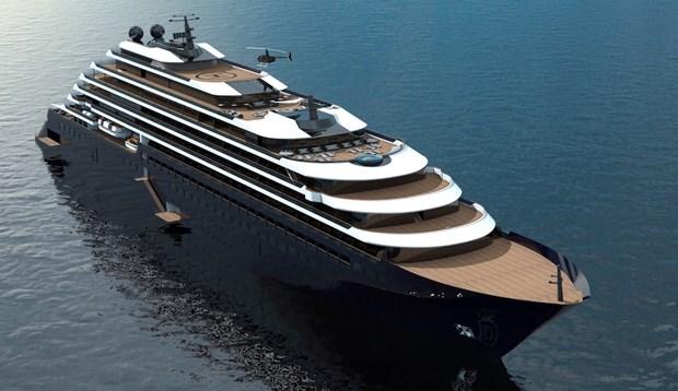 Krydstogtskib fra luksuskæde har kurs mod Bornholm – men er forsinket
