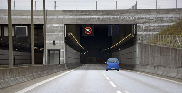 Nu kommer der permanent fartkontrol i tunnelen på Øresundsbroen